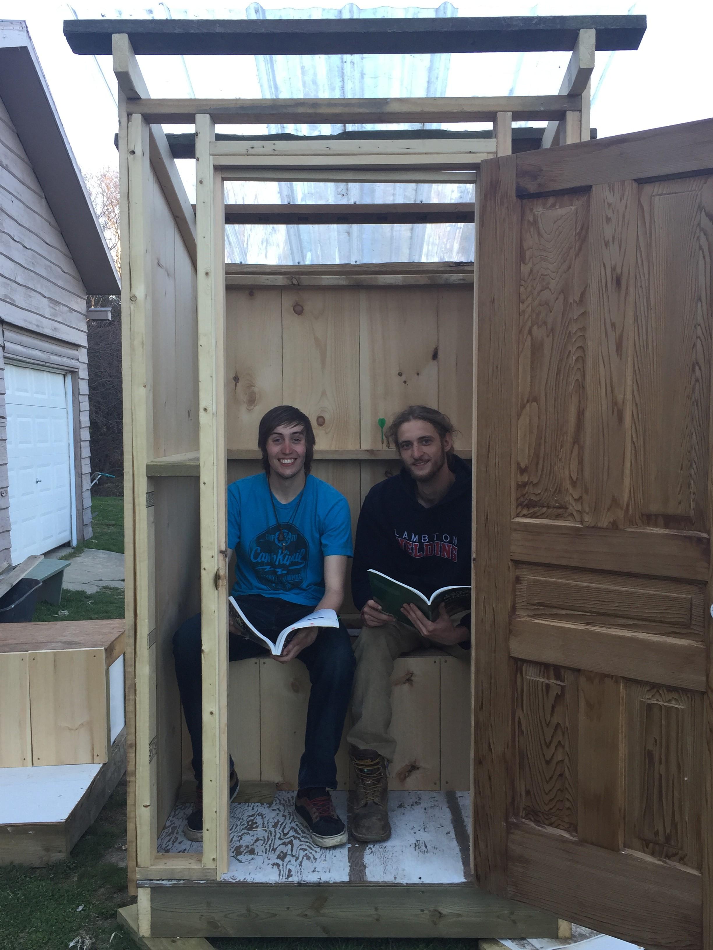 Outhouse shea