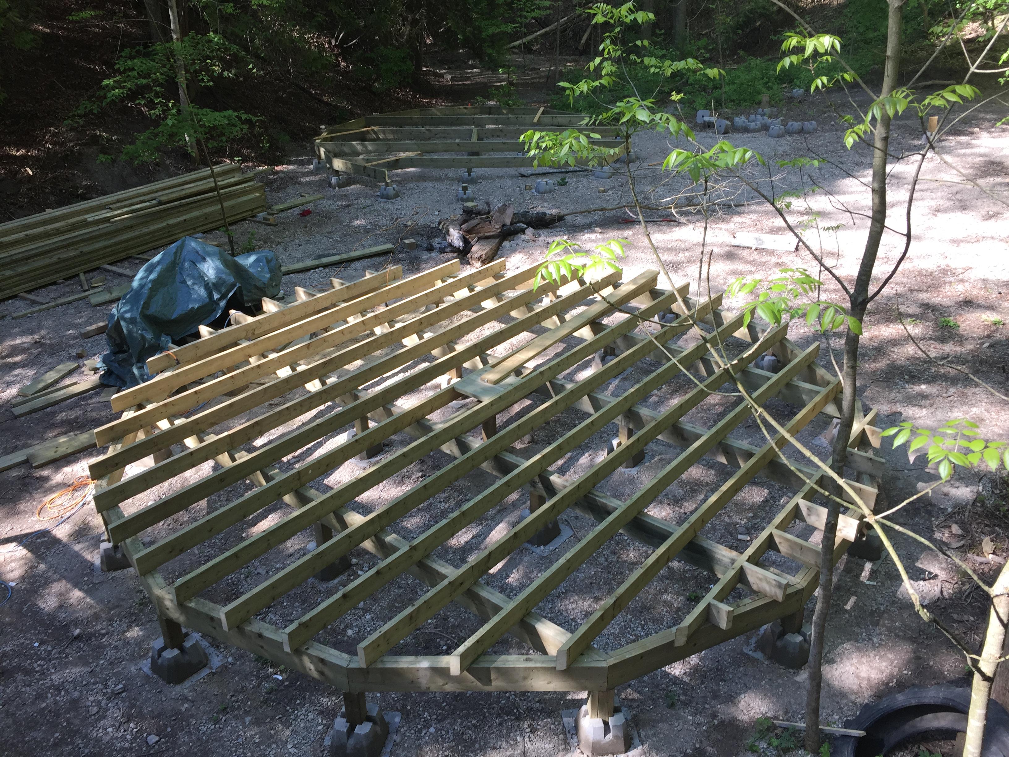 Yurt progress