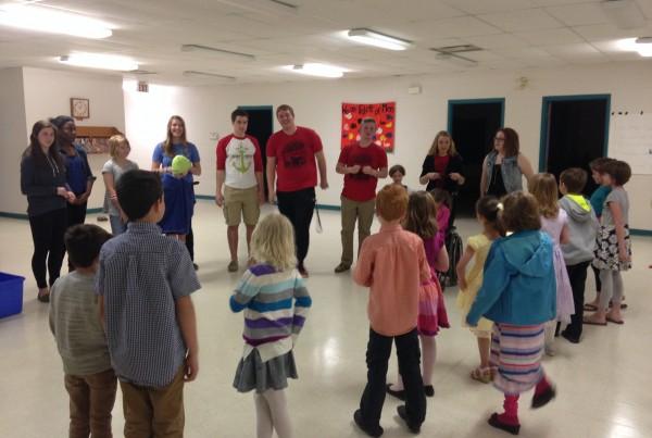 Worship Service, KOTR, Children, Sunday School