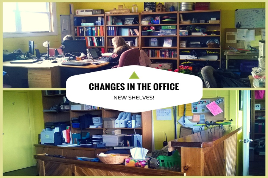 Changes in the office