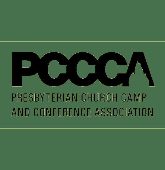 The PCCCA, Presbyterian Church Camp and Conference Association logo.